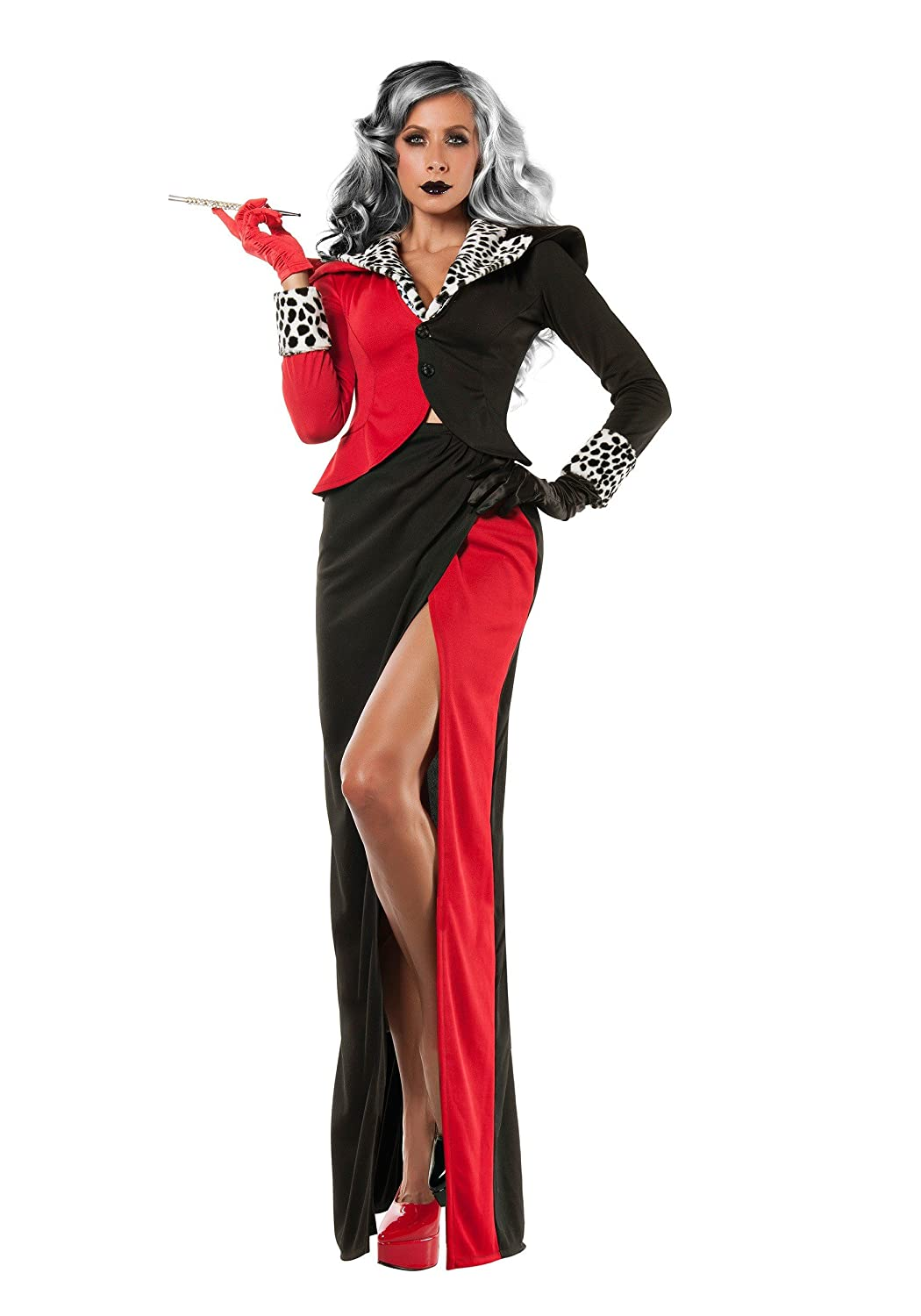 Starline, LLC. Womens Cruella Devil Fancy Dress Costume X-Small ...