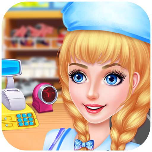 Supermarket Kids Manager : Shopping, dress up, cashier, lost and found, cleaning ! FREE (The Best Girl Games Ever Dress Up)