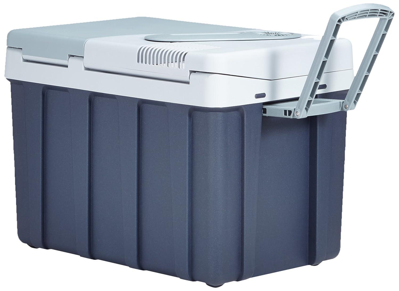 Steckdose Energieklasse A++ Lkw thermo-elektrische K/ühlbox mit Rollen 12//24 V und 230 V f/ür Auto 39 Liter Mobicool W40