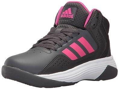70c31fda07c9 ... top quality adidas kids cloudfoam ilation mid basketball shoe grey five  shock pink utility df7c0 8651c