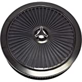 A-Team Performance High Flow Replacement Air Cleaner Assembly w/Flow-Thru Lid Washable and Reusable Round Air Filter…