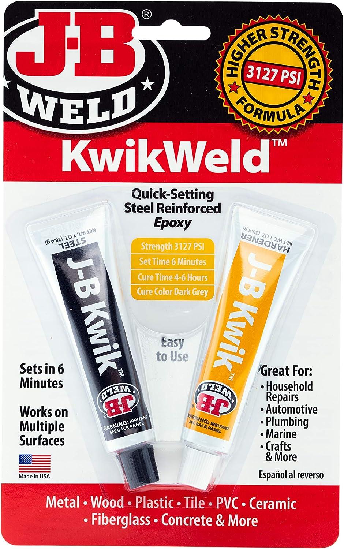 Quick Setting Steel Reinforced Epoxy - Dark Gre