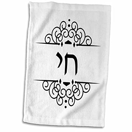 Amazon 3drose Inspirationzstore Judaica Chai Hebrew Word