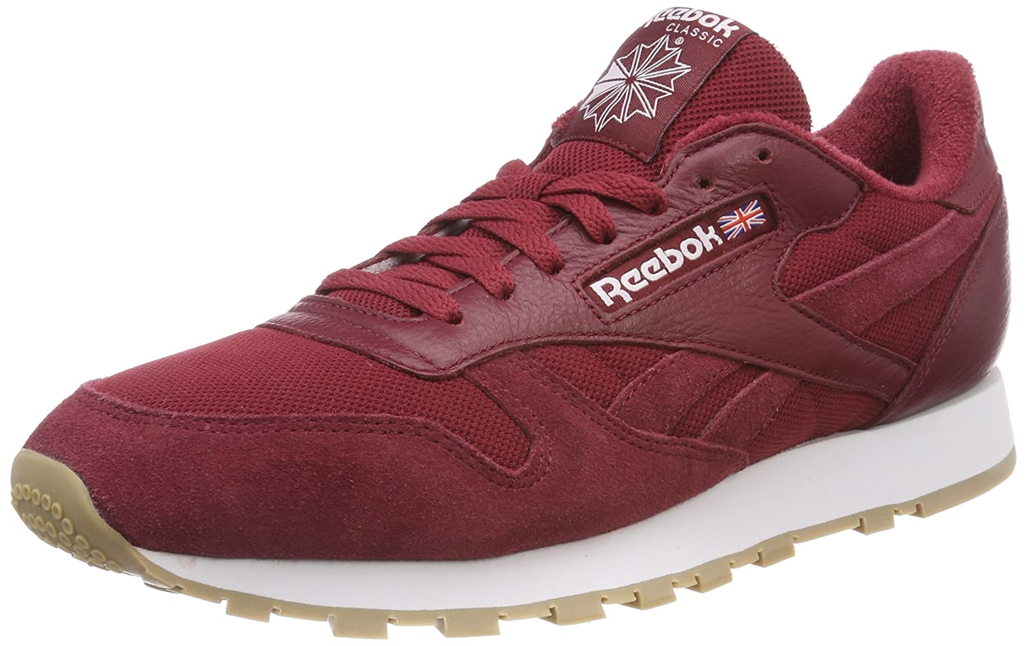 c4c64d7b2f1b Reebok Men s Cl Leather Mu Fitness Shoes