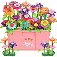 Fivejoy 134PCS Juguetes de Construcción para Jardín de Flores, Jardín Flores Playset Regalos, Juguetes de Construcción…