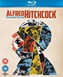 Alfred Hitchcock - The Masterpiece Collection - Blu-ray - DigiBook / Saboteur / Shadow of a Doubt / Rope / Rear Window / The Trouble with Harry / The Man Who Knew Too Much / Vertigo / Psycho / The Birds / Marnie / Torn Curtain / Topaz / Frenzy / Family Plot Universal Studios   1942-1976   14 Movies   1623 min   Rated BBFC: 15, BBFC: 18, BBFC: PG   Nov 12, 2012Director: Alfred Hitchcock Writers: John Michael Hayes, Samuel A. Taylor, Joseph Stefano, Alec Coppel, Evan Hunter, Joan Harrison