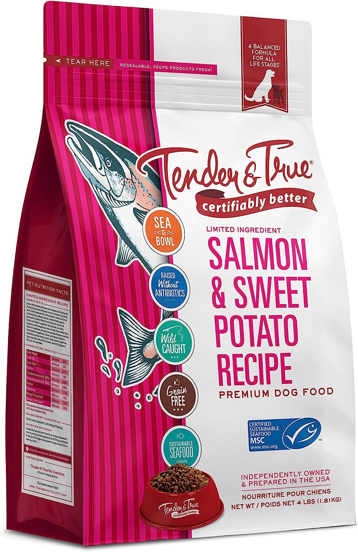 Tender & True Salmon & Sweet Potato Recipe Dog Food