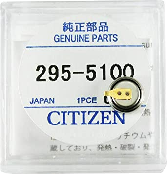 Battery for Citizen Eco Drive Solar Watches Panasonic MT621 Capacitor 295-51