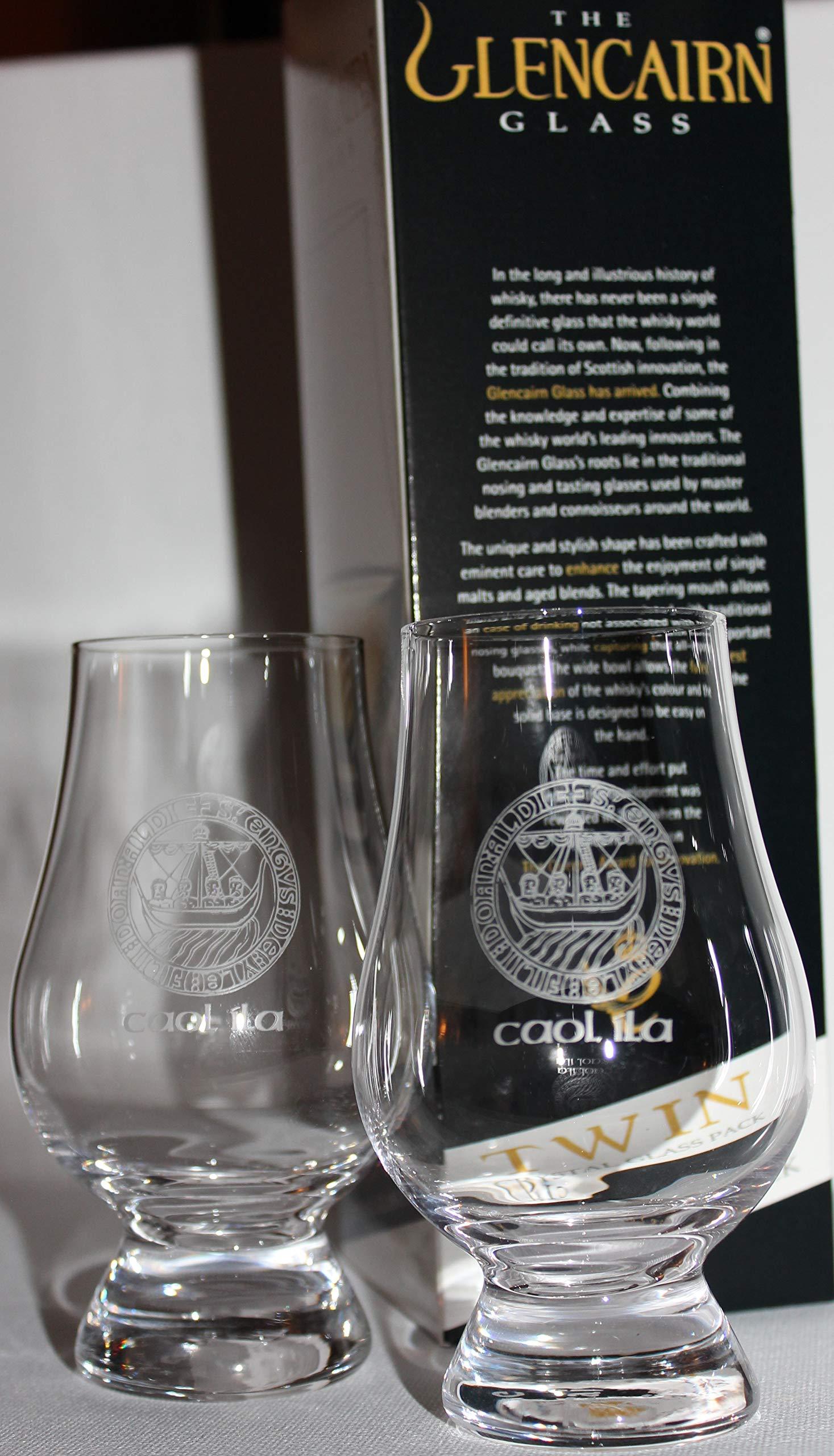 Caol Ila Islay Crest Twin Pack Glencairn Whisky Tasting Glasses