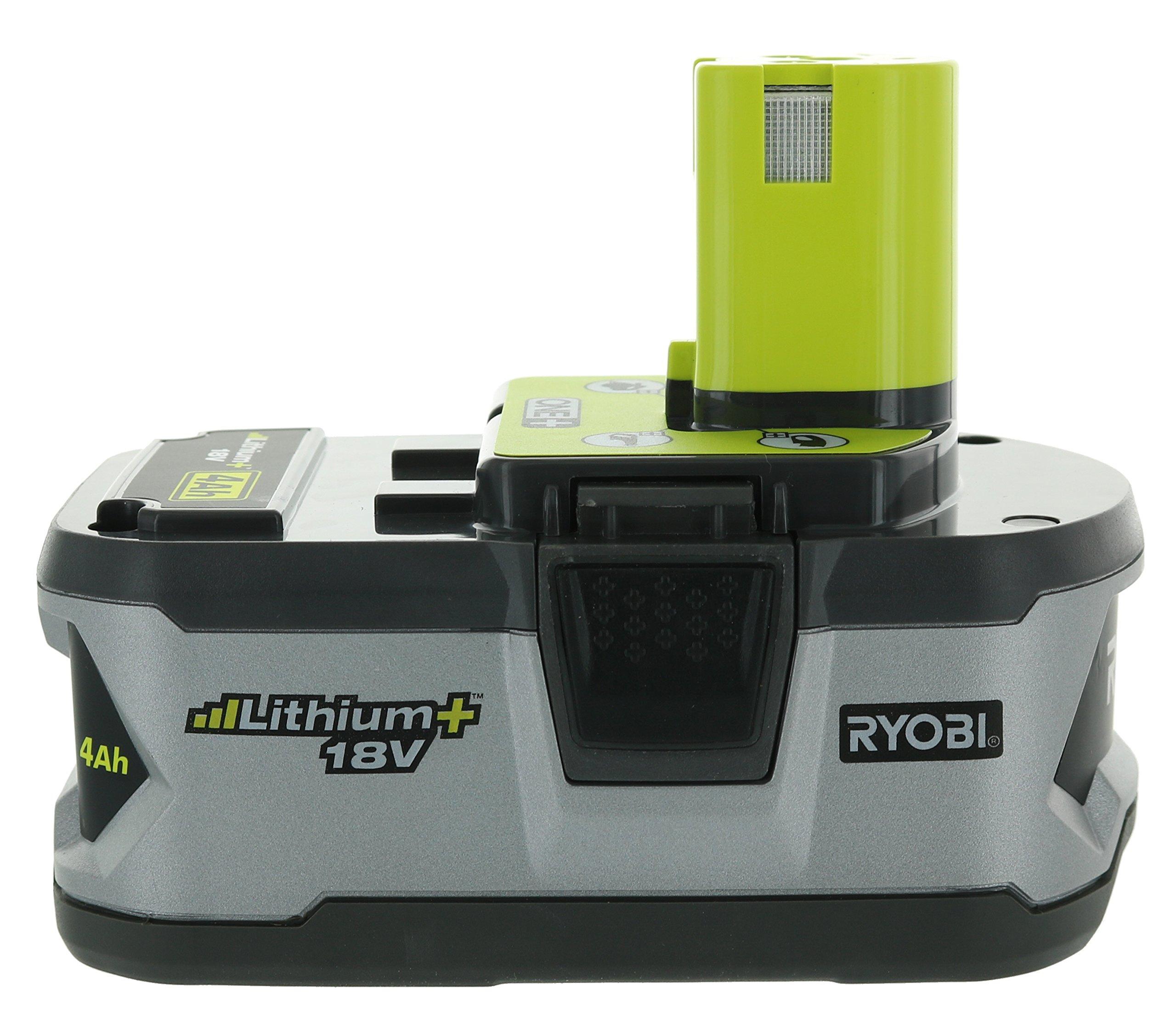 Ryobi P122 4AH One+ High Capacity Lithium Ion Batteries For Ryobi Power Tools (2 Pack of P108 Batteries) by Ryobi (Image #6)