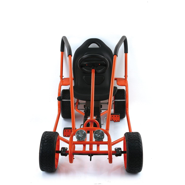 GO de Kart Thunder II, Naranja, A partir de 5 años, t91006, de HAUCK ...