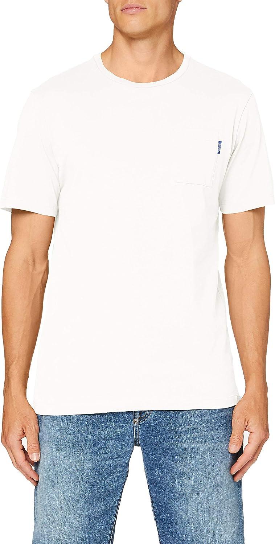 Scotch & Soda Fabric Dyed Pocket tee Camiseta para Hombre