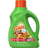 Gain 48 Loads Liquid Laundry Detergent, Tropical Sunrise, 100 Fluid Ounce