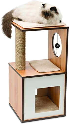 Vesper Cat Furniture, Cat Play Box