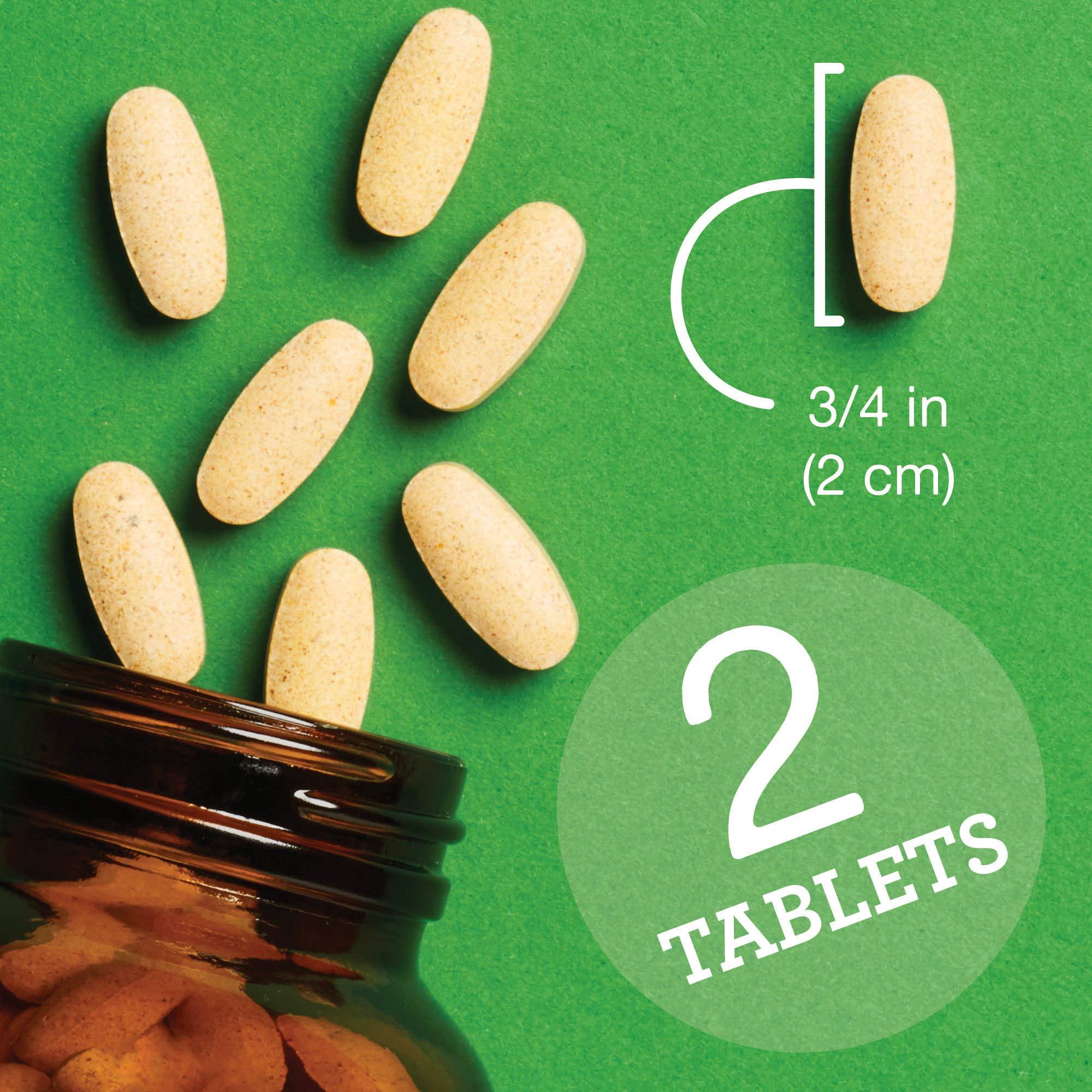 INNATE Response Formulas - Men's 55+ Multi, 120 Tablets by INNATE Response Formulas (Image #4)