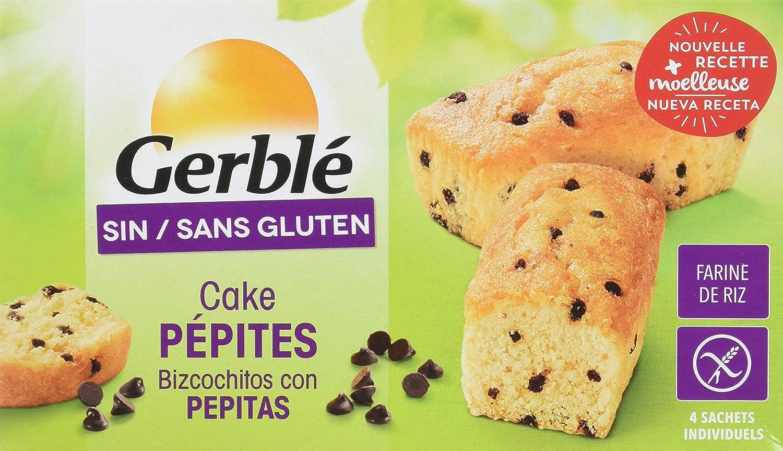 Bizcochitos Con Pepitas Sin Gluten Gerblé 180 G: Amazon.es: Alimentación y bebidas