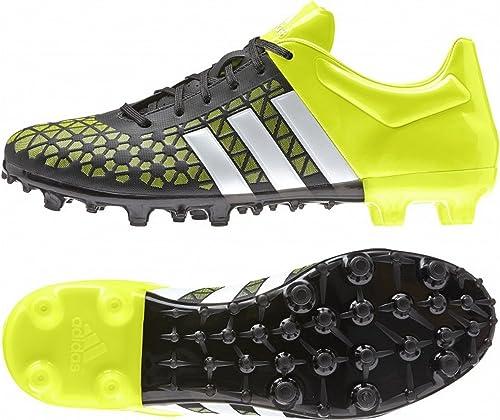 adidas ACE 15.3 FGAG Fußballschuhe SchwarzWeißGelb