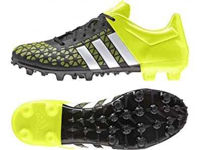 sports shoes e0973 fd41e adidas Men s Ace 15.3 Fg Ag Football Boots, Multicolored (Black   Green
