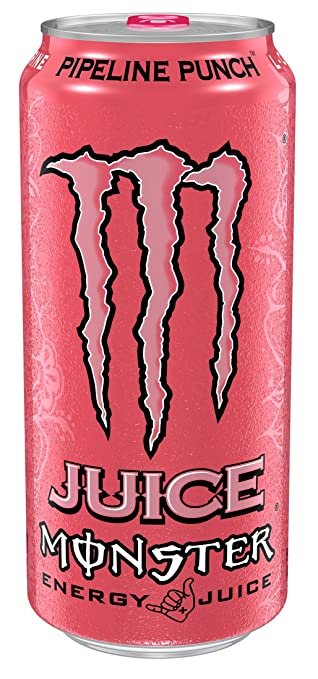 Amazon.com : Monster Energy, Pipeline Punch, 16 fl oz (pack of 4) : Grocery & Gourmet Food
