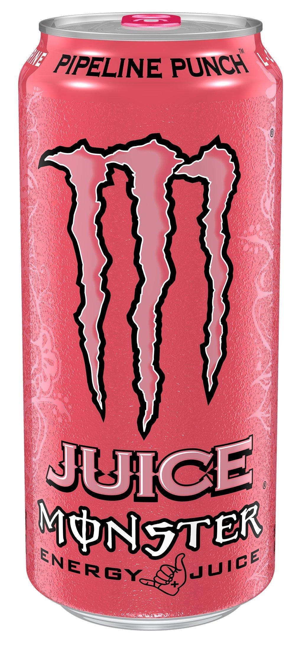 Monster Energy, Pipeline Punch, 16 fl oz (pack of 4)