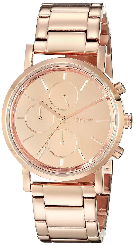 ba087a3cb4a Amazon.com  Dkny Soho Rose Gold Tone Chronograph Woman s Watch  DKNY   Watches