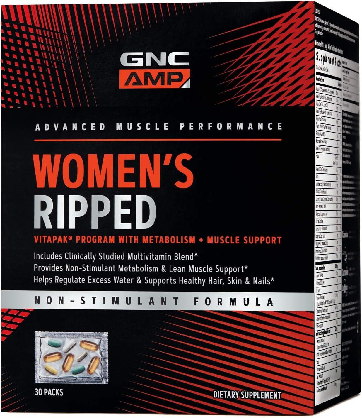 gnc femei ripped vitapak pierdere în greutate alicia vitarelli își pierde greutatea