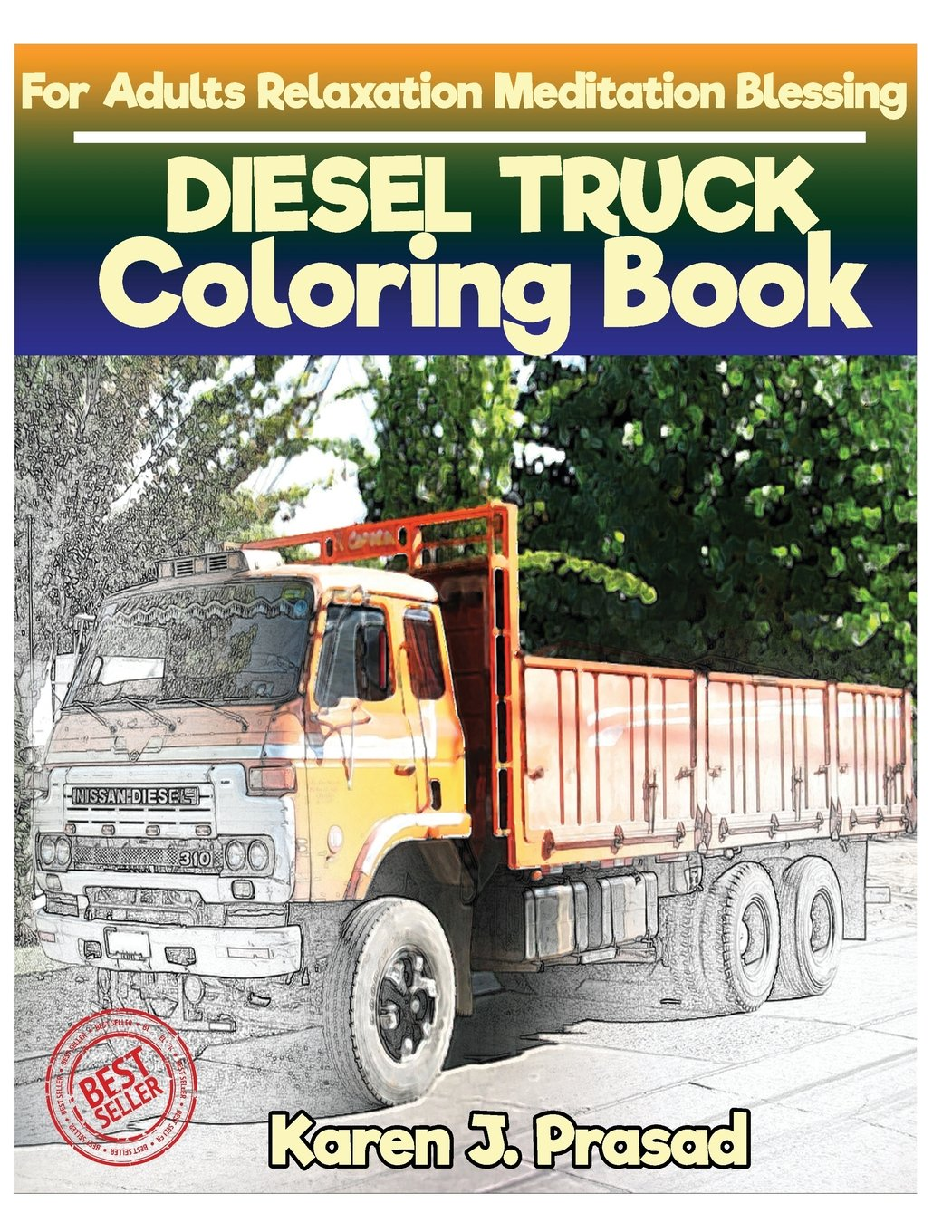 - Amazon.com: DIESEL TRUCK Coloring Book For Adults Relaxation