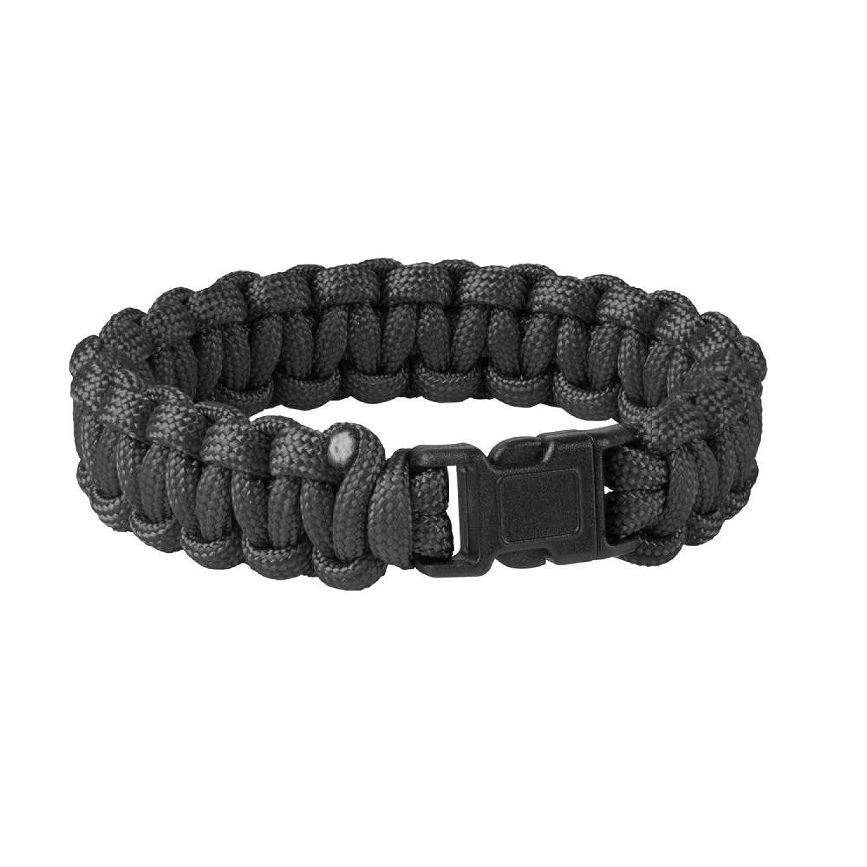 Helikon-Tex Survival Bracelet Ü berlebensarmband - Paracord - Schwarz