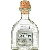 Tequila e 2 Mugs - Moscow Mule Gift set con Patrón Silver700 ml e 2 Mug in acciaio