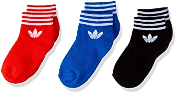 Adidas Trefoil Set de 3 – Calcetines Unisex, Unisex Adulto, D98971, Negro/