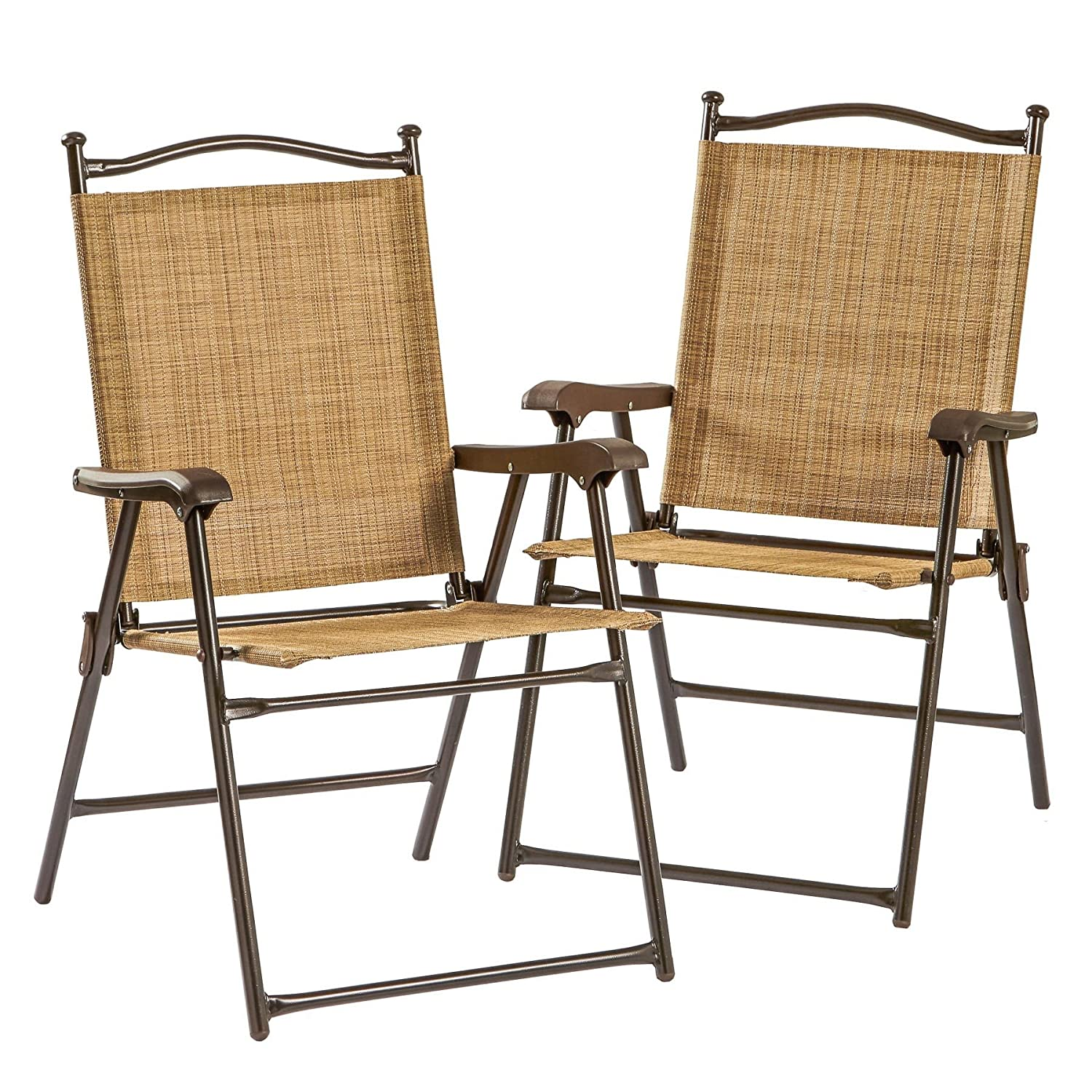 Amazon Folding UV resistant Outdoor Chairs Set of 2