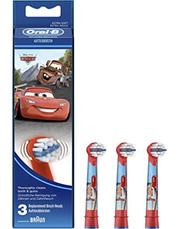Oral-B Stages Power Cabezal de Recambio 3 Unidades Para Cepillo Eléctrico de Los Personajes