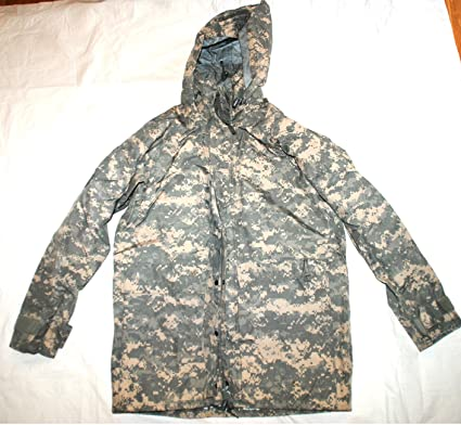 Amazon.com   Us Army Issue Ecwcs Gore Tex Acu Digital Camouflage Cold  Weather Parka - Small Long   Everything Else c6e32a700