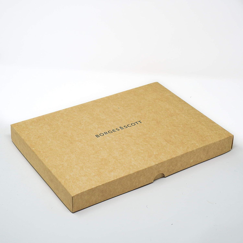 Borges /& Scott Coppola Woodsman Esterno 100/% Lana Completamente Impermeabile Tweed dello Yorkshire