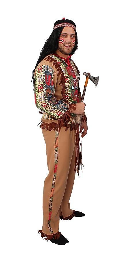 Kostum Indianer Kopfschmuck Hauptling Apache Western Cosplay