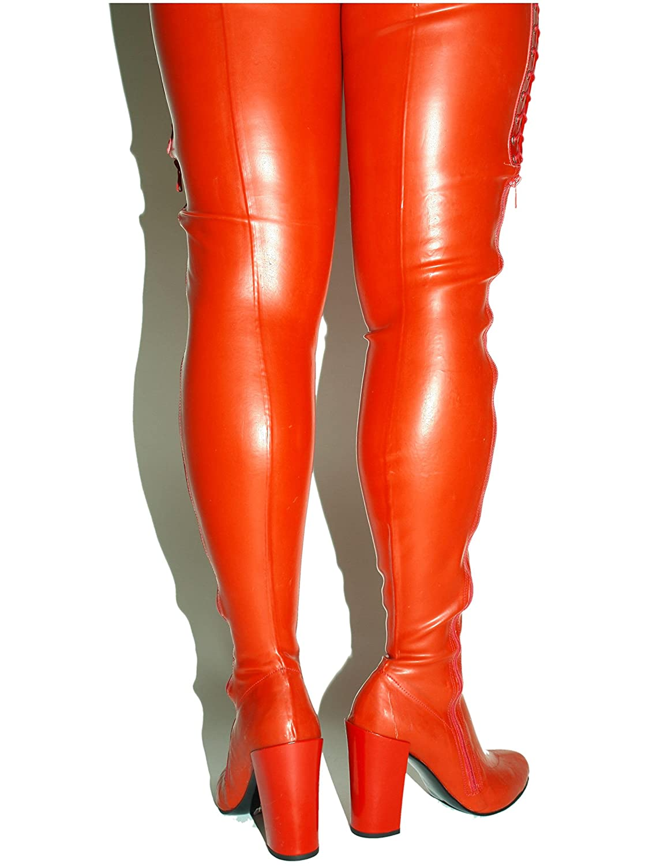 Latex Stiefel Gummi Rubber High Heel 11cm 11cm 11cm Bolingier Poland Größe 37-47 FS - e491ce