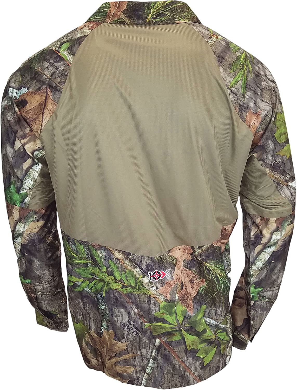 Walls Mens 10X Ultra-Lite Long Sleeve Mesh Back Shirt