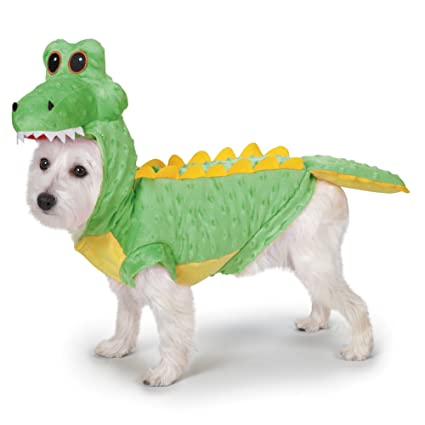 Casual Canine Casual Canine Crocodile Costume for Dogs 12u0026quot; ...  sc 1 st  Amazon.com & Amazon.com : Casual Canine Casual Canine Crocodile Costume for Dogs ...
