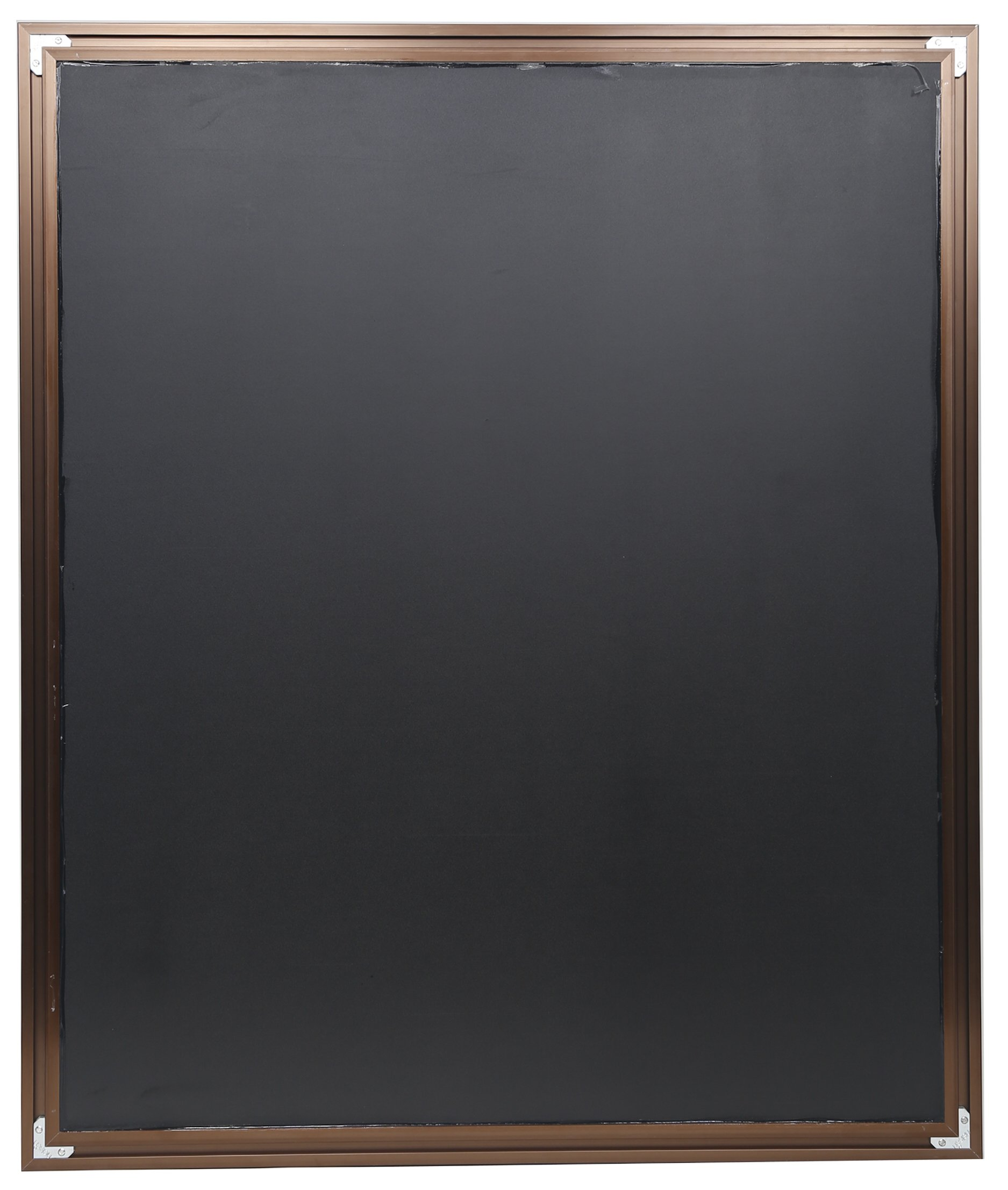 Nielsen Bainbridge 24x30 Rectangular Aluminum Wall Mirror | Vanity Mirror, Bedroom or Bathroom | Hangs Horizontal or Vertical | Brushed Bronze - Contemporary vanity mirror with 1 1/4 wide frame profile in a brushed bronze finish Outer dimensions measure 26.5 inches x 32.5 inches. Mirror dimensions measure 24 inches x 30 inches Mirror includes ready-to-hang durable hangers on the back for vertical or horizontal hanging options - bathroom-mirrors, bathroom-accessories, bathroom - 81103xrtgCL -
