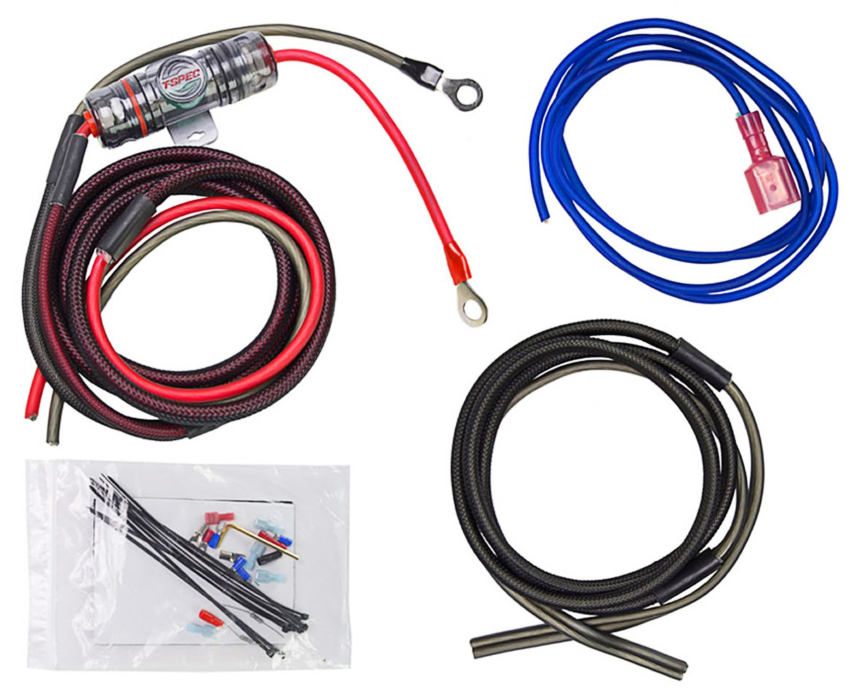 Metra ST-AK8 Motorcycle/ATV/UTV/RZR 8 Gauge OFC Amplifier Amp Install Wire Kit by Metra (Image #1)