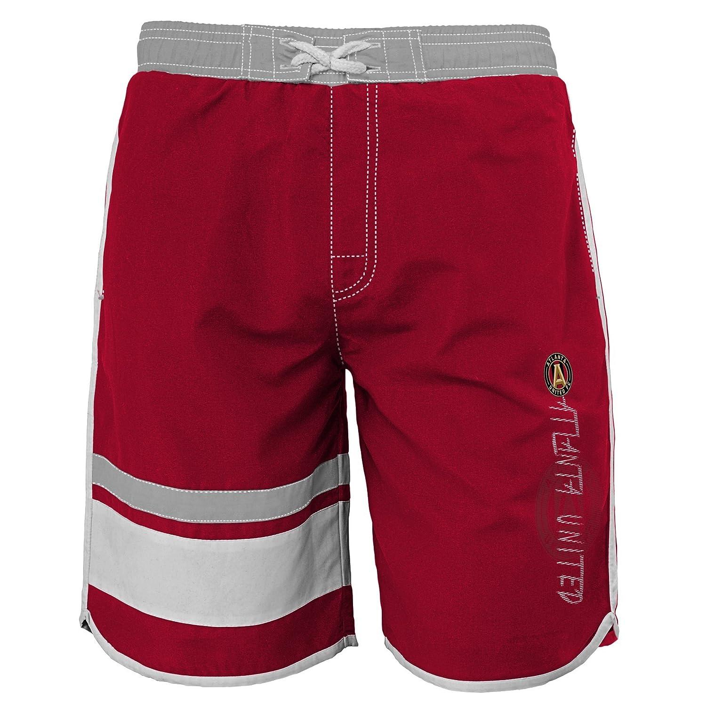 18 X-Large Victory Red MLS Atlanta United Youth Boys 8-20 Swim Trunk