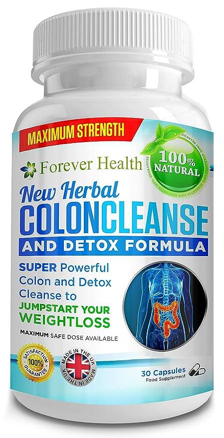 Colon Cleanse - Limpieza de Colon - Completa Base de Plantas Naturales Limpieza de Colon Desintoxicación
