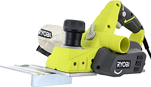 Ryobi HPL52K 6 Amp 16,500 RPM 3 1 4 Corded Hand Planer w Kickstand and Dual Dust Ports