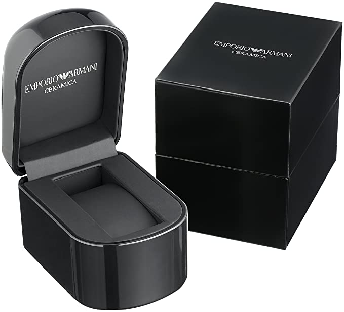 Amazon.com  Emporio Armani AR1451 Black Ceramica Mens Watch  Emporio Armani   Watches 2c954aafe9