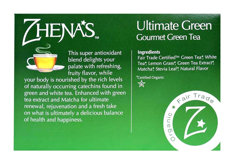 Amazon Zhenas Ultimate Gourmet Green Tea K Cups Grocery