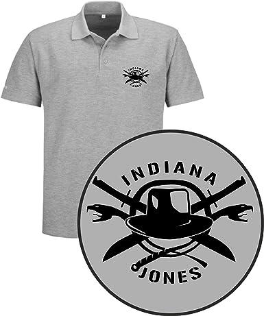 The Fan Tee Polo de Hombre Indiana Jones Payaso Terror Peliculas: Amazon.es: Ropa y accesorios