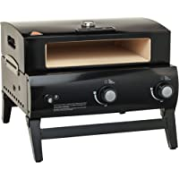 BakerStone O-AJLXX-O-000 Portable Gas Pizza Oven, Black