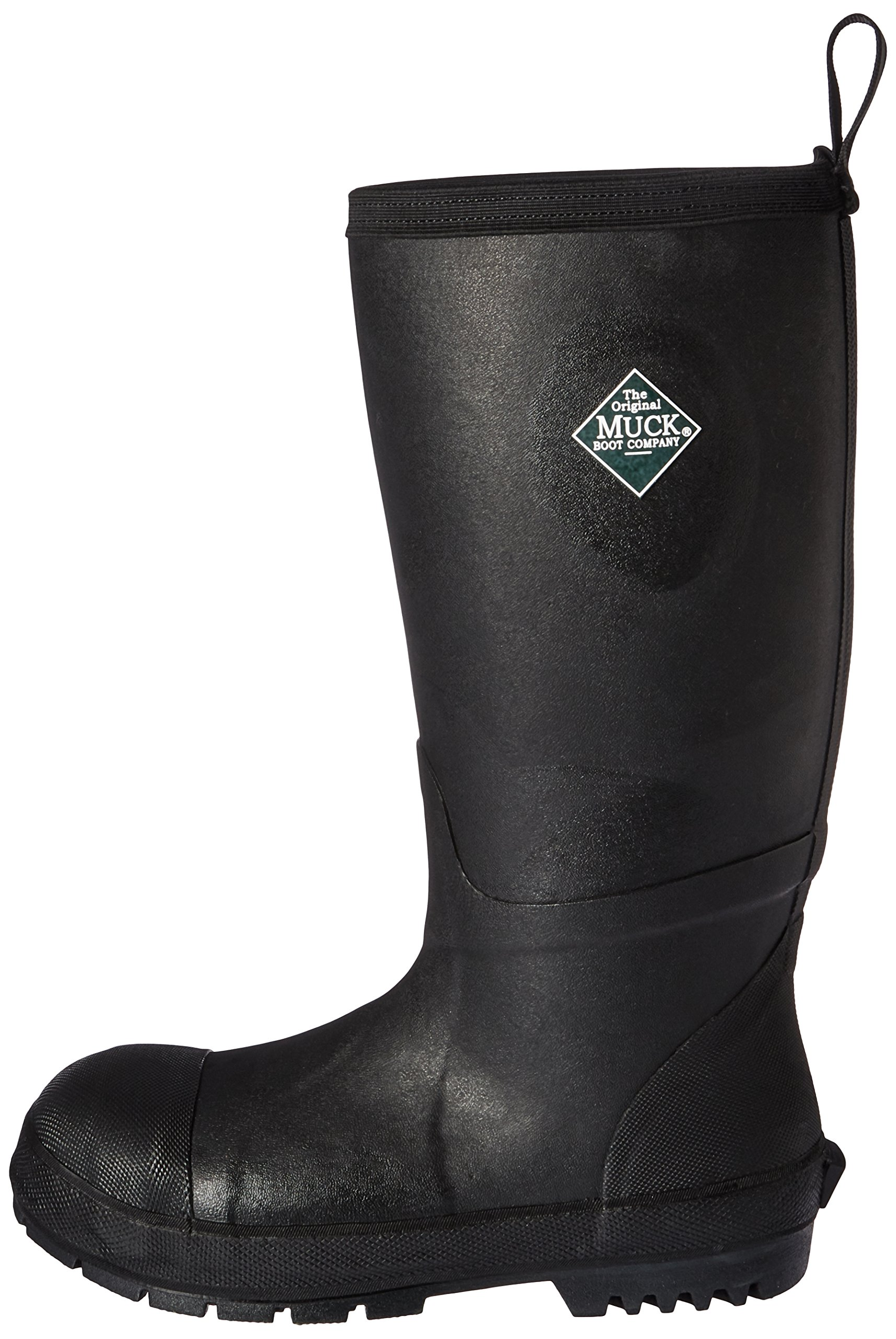 Muck Boot Men's Chore Resistant Tall Steel Toe Work Boot, Black, 10 US/10-10.5 M US by Muck Boot (Image #5)