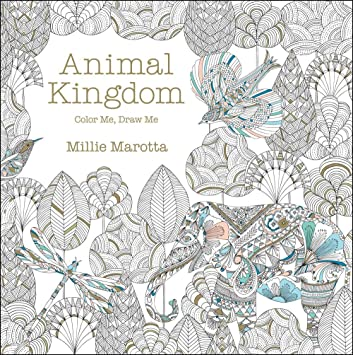 animal kingdom color me draw me millie marotta adult coloring book - Adult Color Books