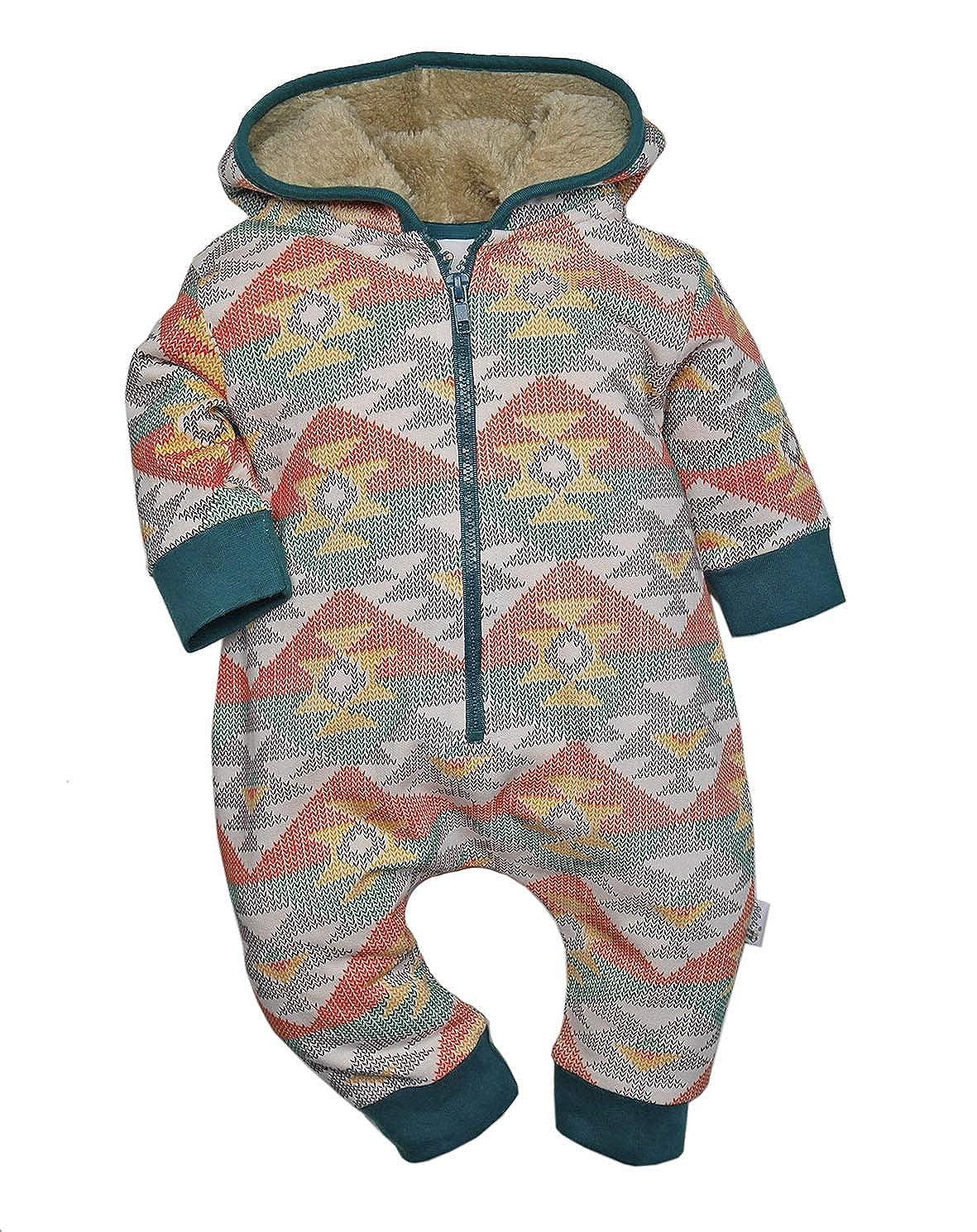 Gelati Baby/Mini Boys Baby Schlafanzug Hoody Ovi